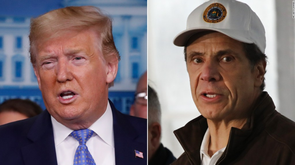 The history behind Trump and Cuomo's hot and cold relationship