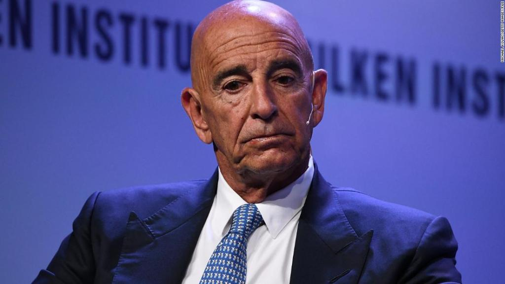 Trump ally Tom Barrack charged with acting as an agent of a foreign government