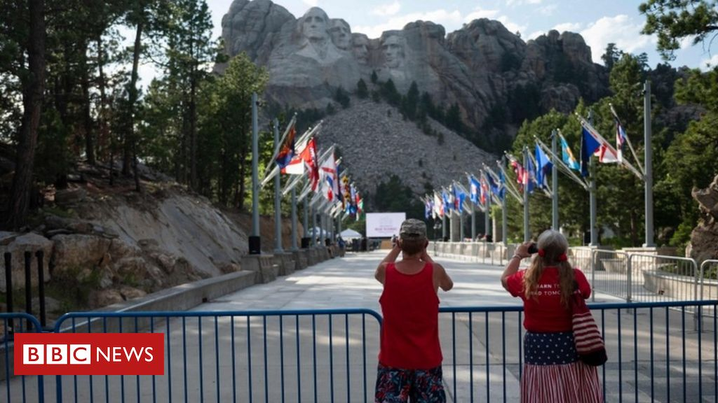 Trump to host Mount Rushmore event amid criticism