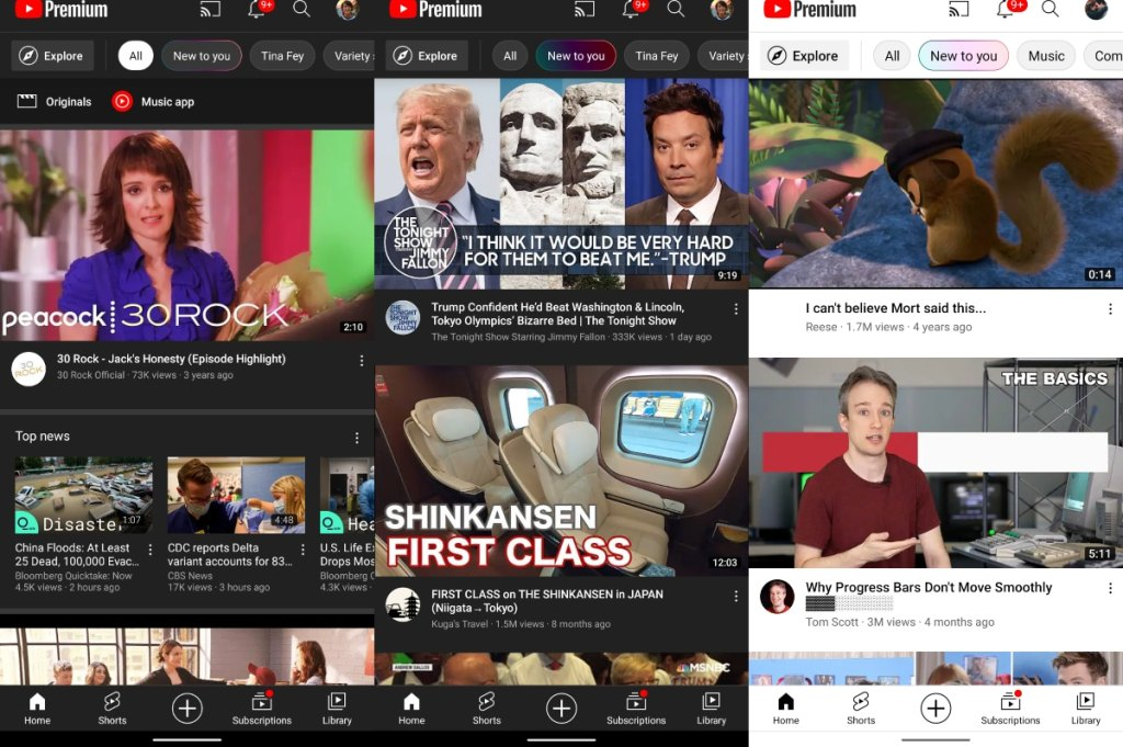 YouTube Rolling Out 'New to You' Section for Personalised Recommendations, New Chromecast Remote Control UI