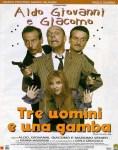 TRE UOMINI E UNA GAMBA – Nastro d'argento Speciale per l'esordio cinematografico di Al, John e Jack