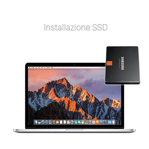 Aumentare memoria MacBook Pro Retina SSD