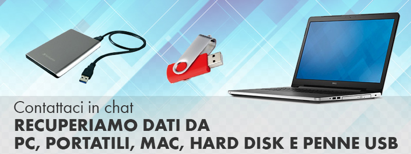 recupero dati hard disk usb pc Mac