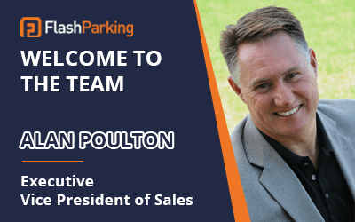 FlashParking Welcomes Parking Industry Veteran and Sales Visionary, Alan Poulton as Its New Executive Vice President of Sales