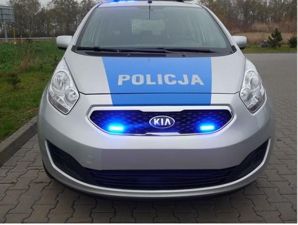 C4 led flitser 911signal blauw
