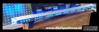 Extreem lightbar 132cm blauw