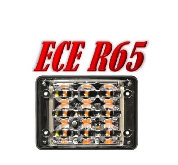 SSLT9 Led Flitser 9 x 3 Watt ECE R65 12/24V