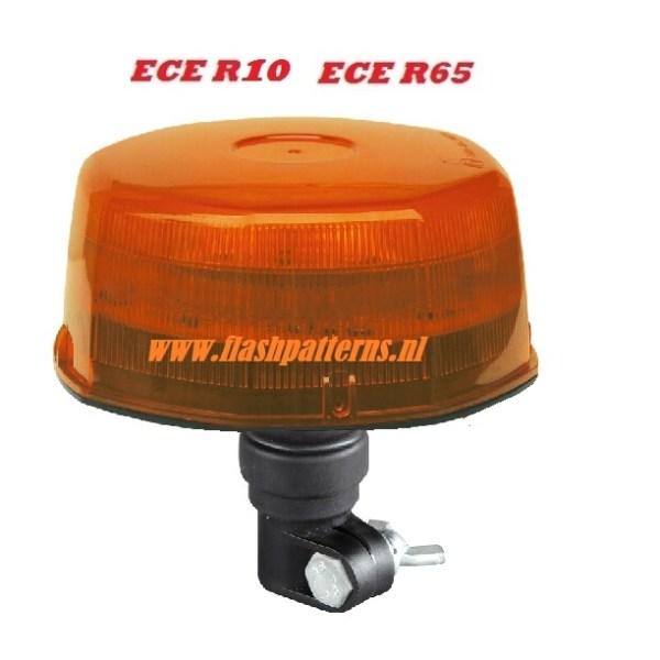 Eco ZL5R opsteek LED zwaailamp ECER65 12-24V