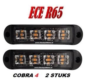 C4 COBRA LED GRILL LIGHT ECER65 led flitser 2st