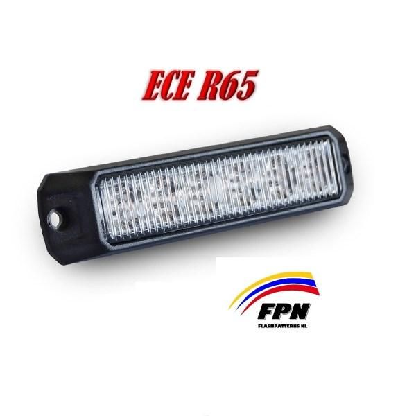 ELT-X6 LED Flitser ECER65 IP67 12/24V 2 jaar volledig Garantie