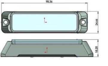 T4 LED Grill Flitser Klasse 2 size