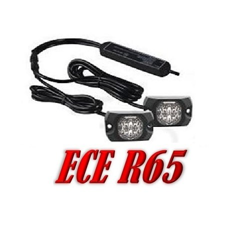 XT4 Covert Hoog Intensiteit Led Flitser set ECER65 12/24V