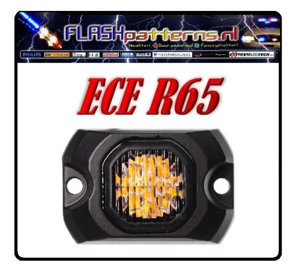 XT4S-20watt Led Covert Flitser ECER65 enkel picnew logo