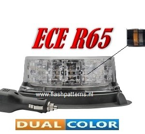 extreem dual color led zwaailamp magnet