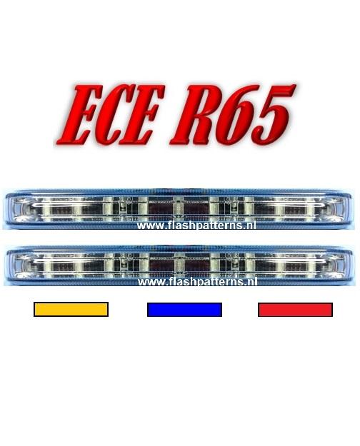 UCV Stealth Led flitser ECER65 fp4 kleur 2 stuks fp