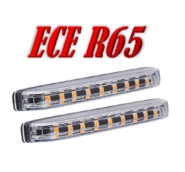 UCV Stealth Led Flitser 2 stuks ECER65 12/24V SUPER SMALL **SUPER AANBIEDING !!!**