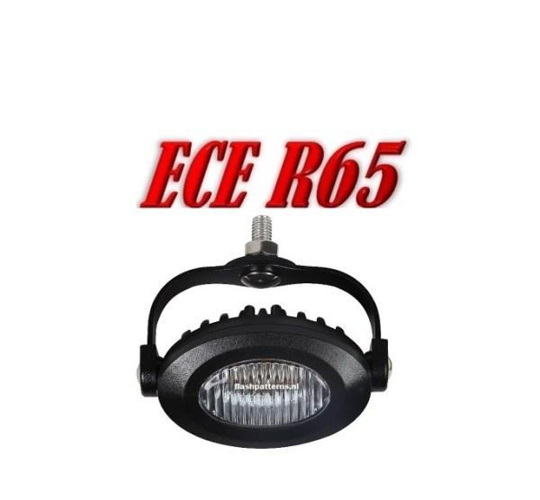 OV3 Led Flitser ECER65 12/24V