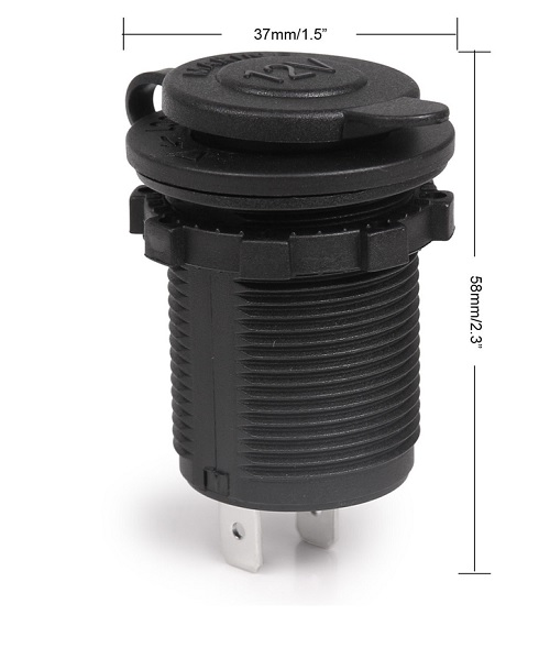 12v power socket sku 1812-afm