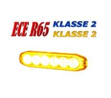 E6 R65 klasse 2 foto amber