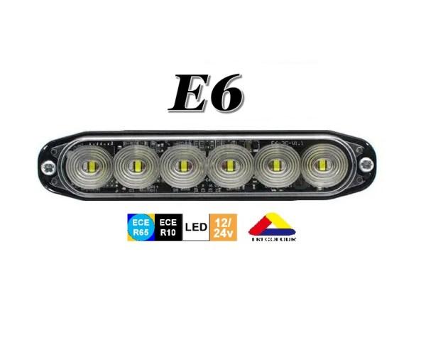 E6 class2 r65 tri colour Flashpatterns nederland EU