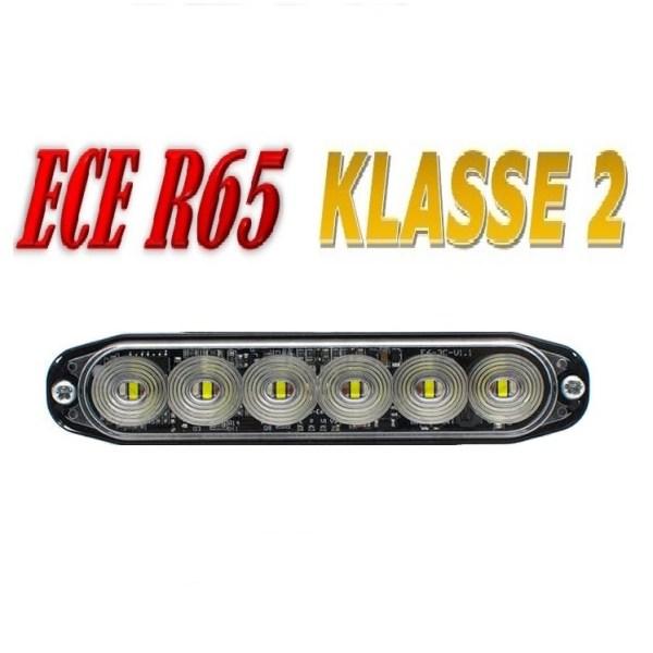 E6 Led Flitser – ECE R65 Klasse 2