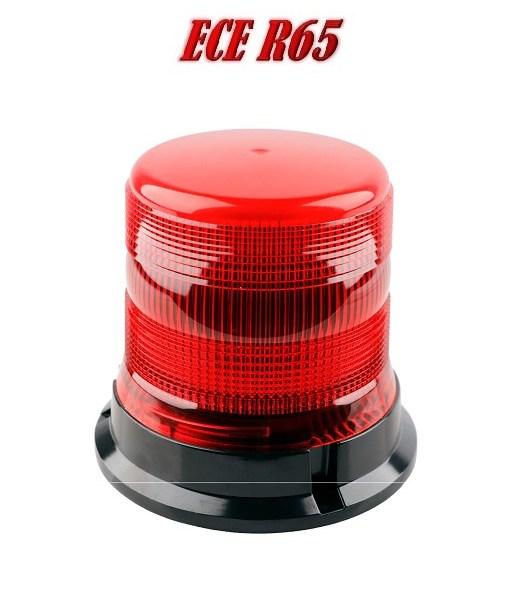 ZLSS138HR Hoog kwaliteit LED Zwaailamp Rood ECER65 12/24V 3 jaar Garantie