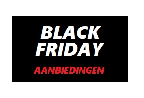 BLACK FRIDAY AANBIEDINGEN