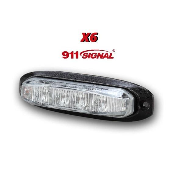 911SIGNAL X6 ECER65 12-24V Flashpatterns Nederland