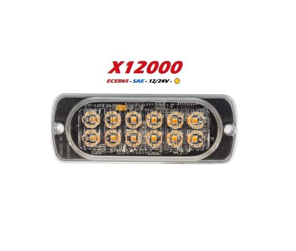 X12000 extreem led flitser R65 12-24V