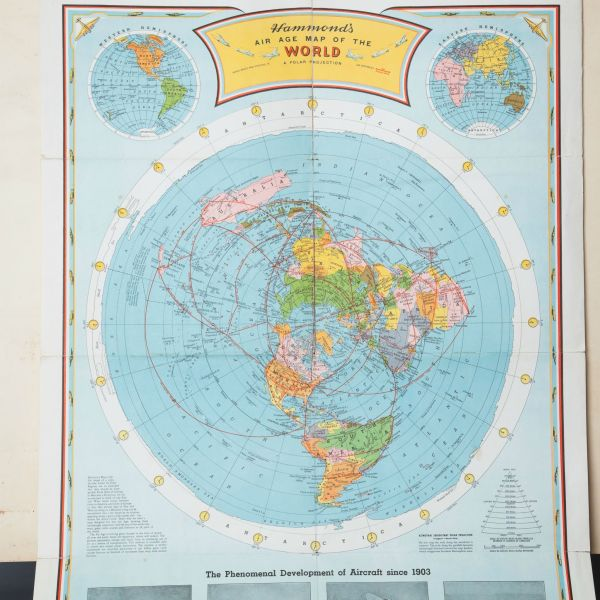 Flat Earth Maps   Flat Earth   Flat Earther