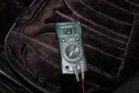 tension charge batterie au ralenti