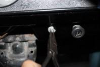 démonter interrupteur de phare