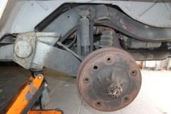 suspension arrière gauche