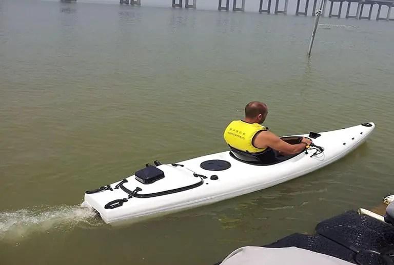 Can You Put A Motor On Kayak Flat