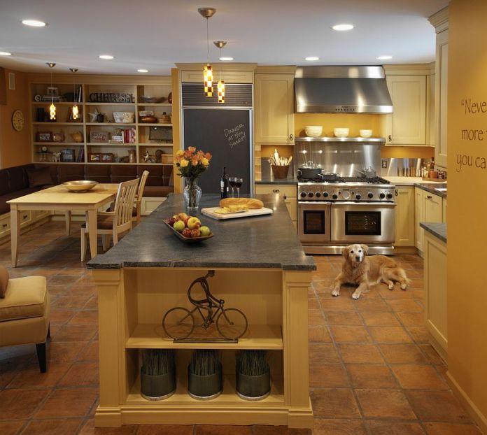 Classico stile Mediterraneo in cucina