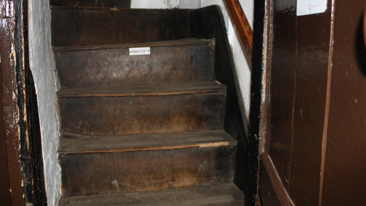photo of Steep and winding staircase in Bridge Cottage