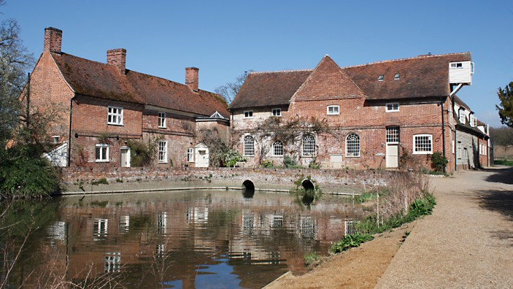 Colour photo of Flatford Mill