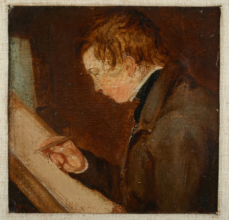 Painting by John Constable of his son, John Charles Constable - Britten Pears Foundation