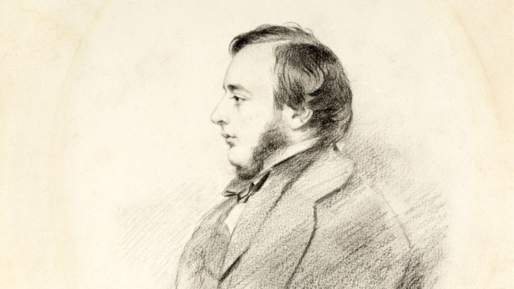 Sketch of Lionel Constable by Charles Robert Leslie 1854 - Tate Gallery