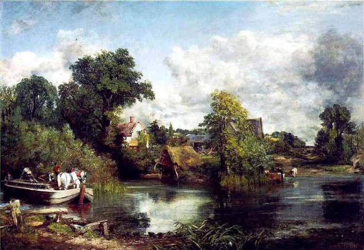 The White Horse 1819 by John Constable