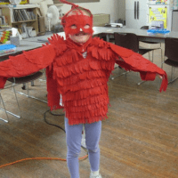 Preschool Bird Costume