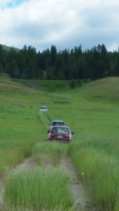 Group on the Move - Photo Credit: Clancy Cone
