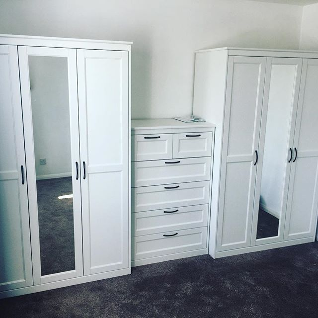 Ikea Songesand Wardrobe And Chest Assembly In A