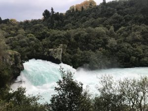 Do not miss a visit to Huka Falls