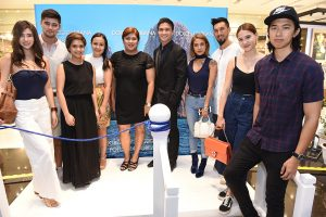 (L to R) Chelsea Robato, Christian Busby, Holly Rayos, Denise Vainio, Dinty Alcantara, Vince Velasco, Sam Richelle, Anton Del Rosario, Christiana Collings, Mark Canlas