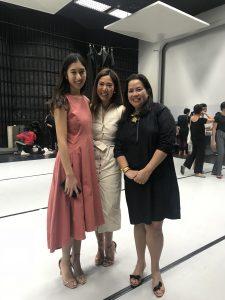 with Ballet Philippines President, Kathleen Lior Liechtenstein