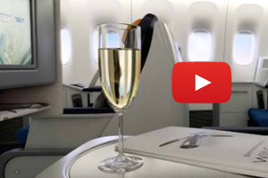 First class seats on airlines