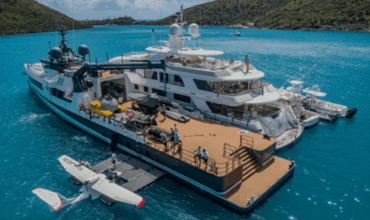 A $50 Million Boat for the Toys You Can't Fit on Your Yacht