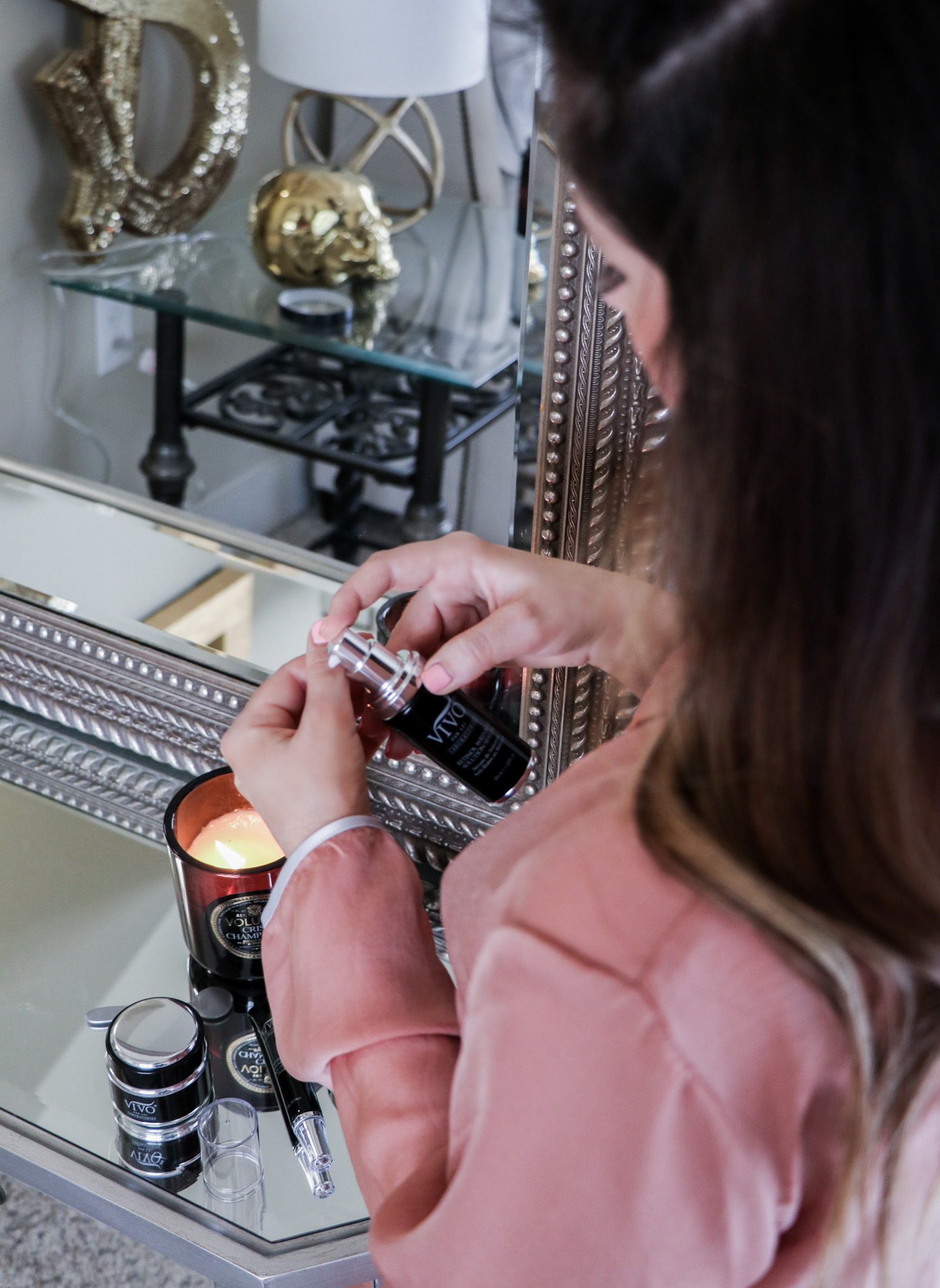 Houston fashion and lifestyle blogger Tiffany Jais doing a skincare review for Vivo Per Lei, click to read more | Beauty