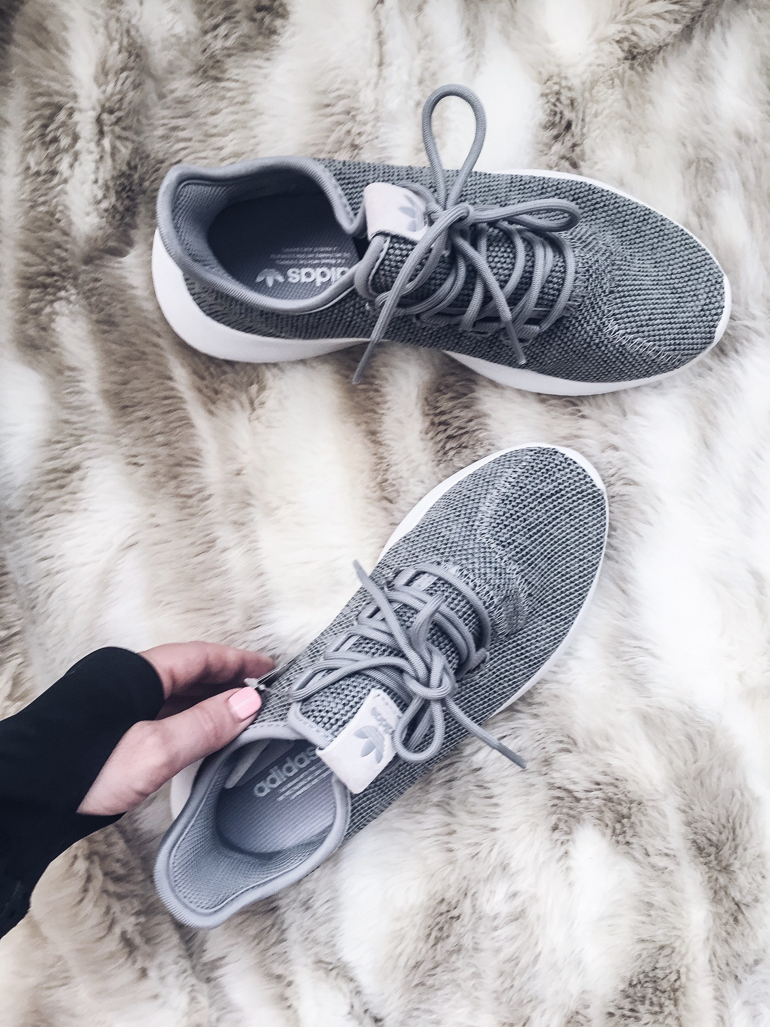 Houston fashion and lifestyle blogger Tiffany Jais of Flaunt and Center doing an instagram roundup featuring the addidas tubular sneakers. Click here to read more! | Adidas, style, what's trending in women's fashion